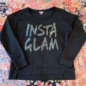 Juicy couture INSTA GLAM top! Size XL